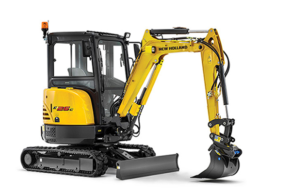 New Holland | Light Construction Equipment | Compact Excavators - C-Series for sale at Landmark Equipment, Texas