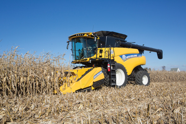New Holland 980CR Rigid Corn Header - 6 rows for sale at Landmark Equipment, Texas