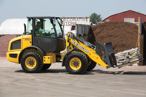 New Holland | Compact Wheel Loaders | Model W50C TC for sale at Landmark Equipment, Texas