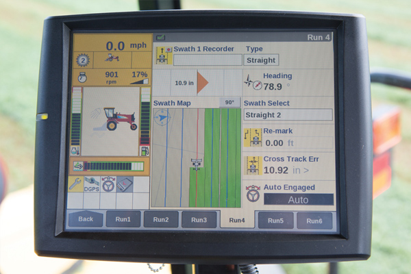 New Holland | Guidance & Steering | Model Integrated IntelliSteer™ Auto Guidance for sale at Landmark Equipment, Texas