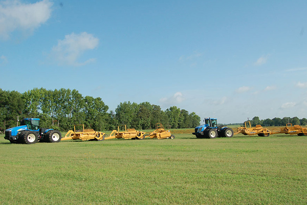 New Holland Trimble® Fieldlevel II System for sale at Landmark Equipment, Texas