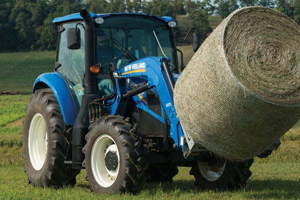New Holland T5.110 Electro Command™ for sale at Landmark Equipment, Texas