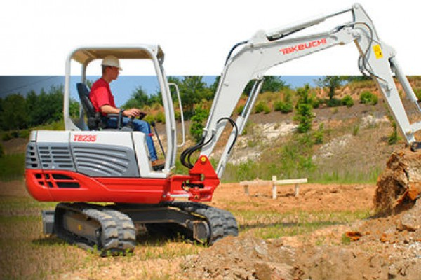 Takeuchi | Compact Excavators | Model TB235 for sale at Landmark Equipment, Texas