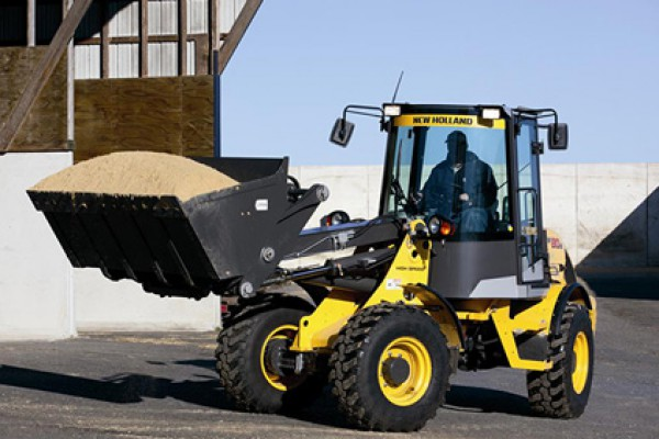 New Holland | Compact Wheel Loaders | Model W80B TC (Prior Model) for sale at Landmark Equipment, Texas