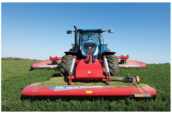 New Holland | Haytools & Spreaders | MegaCutter Triple Disc Mower-Conditioners for sale at Landmark Equipment, Texas