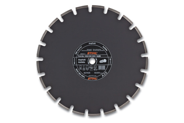 Stihl D-A 20 Diamond Wheel for Asphalt - Quality Grade for sale at Landmark Equipment, Texas
