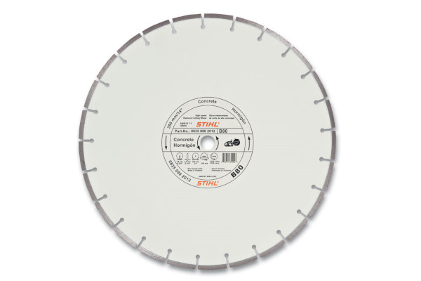 Stihl D-B80 Diamond Wheel - Premium Grade for sale at Landmark Equipment, Texas