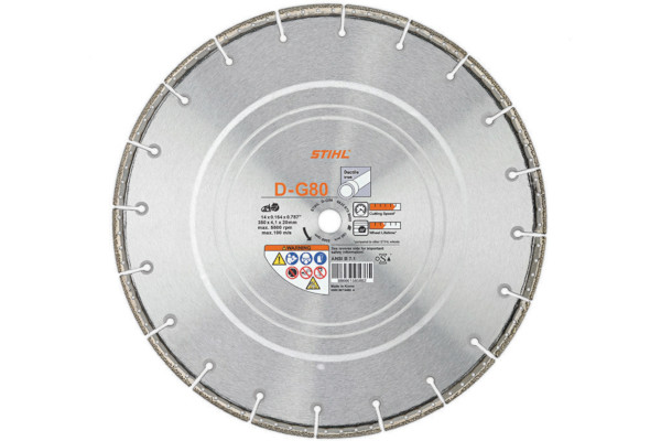 Stihl D-G 80 Diamond Wheel - Premium Grade for sale at Landmark Equipment, Texas