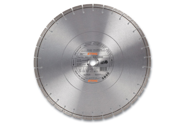 Stihl D-SB80 Diamond Wheel - Premium Grade for sale at Landmark Equipment, Texas